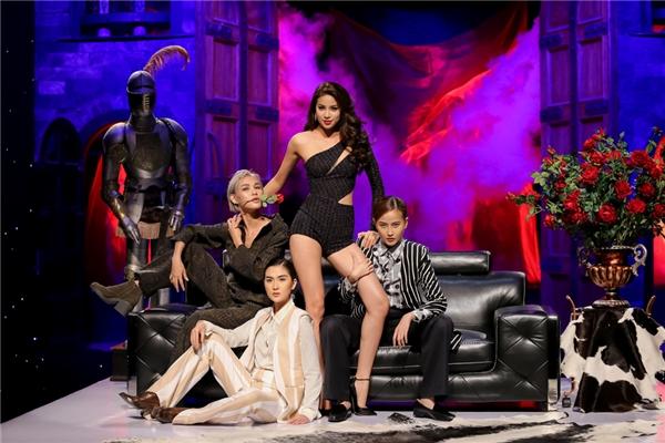 Phần thể hiện của 3 đội tại The Face tập 7.