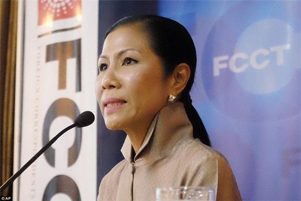 Nữ Bộ trưởng Du lịch đầu tiên của Thái Lan, bàKobkarn Wattanavrangkul, tuyên bố muốn xóa bỏnền công nghiệp tình dụcở nước này.