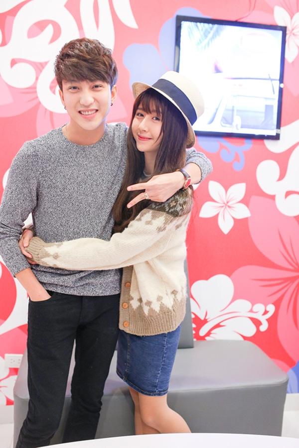 Thời mặn nồng ai cũng phải ghen tị của B Trần và Quỳnh Anh Shyn. (Ảnh: Internet)