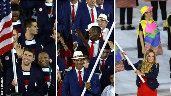 Nhiều quốc gia đã có mặt tiến hành diễu hành, đại diện cho đất nước của mình. Dù khác nhau về màu da, khác nhau về bộ môn thể thao đang theo đuổi nhưng trên hết, họ có một niềm tin chung và sự đam mê không giới hạn dành cho thể thao.