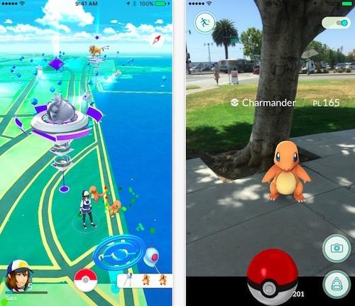 Những chú Pokemon sẽ xuất hiện ở bất kì nơi nào trên bản đồ. (Ảnh: internet)