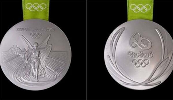 Có đến khoảng 30% huy chương bạc được sản xuất từ những nguyên liệu tái chế.