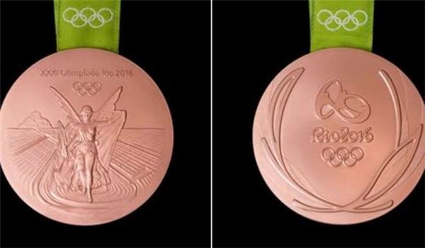 Huy chương đồng được làm từ đồng nguyên chất.