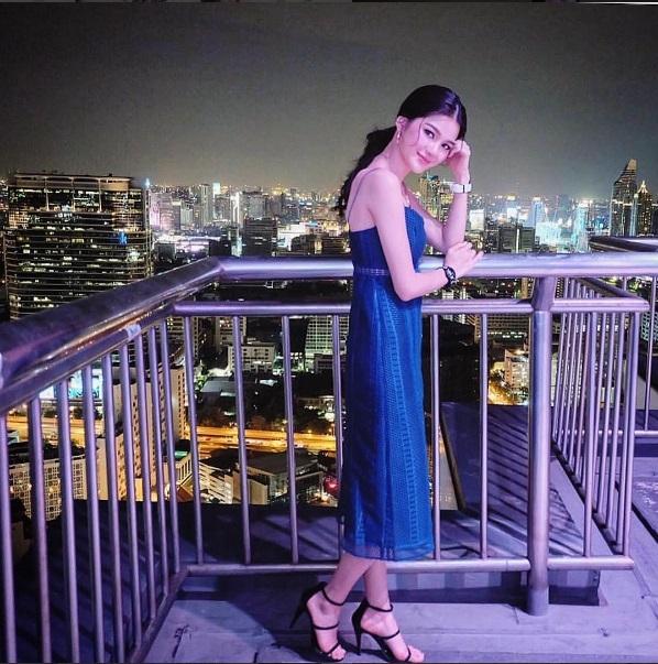 Nữ thần The Face Thái Lan gây sốt với vẻ đẹp