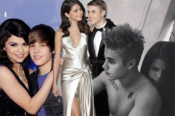 Chuyện tình 5 năm hợp rồi lại tancủa Selena và Justin Bieber