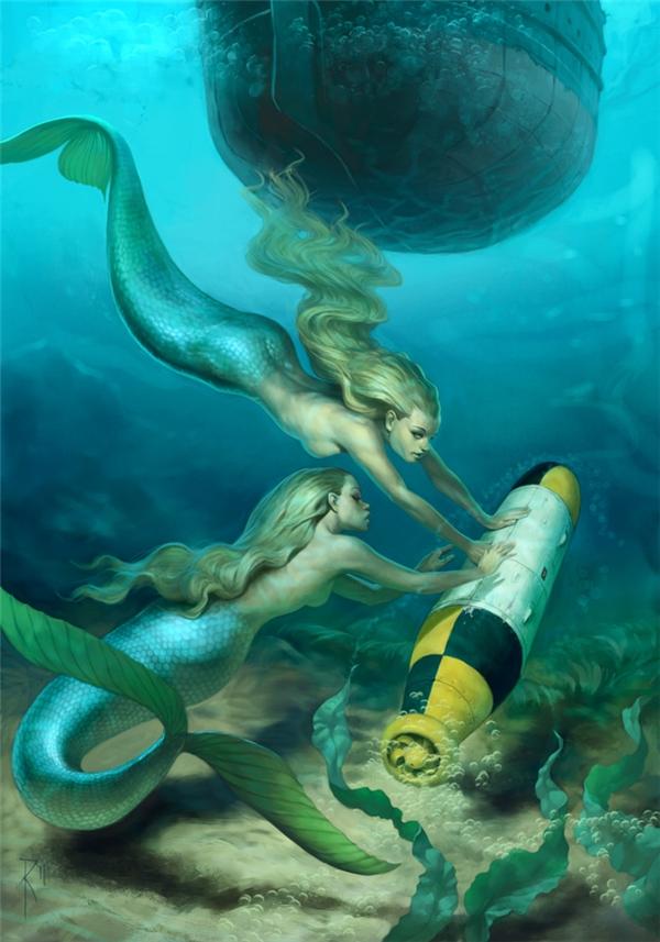 Nếu nàng tiên cá thực sự có tồn tại, có lẽ họ cũng không thể tồn tại lâu giữa đống rác và chất độc mà con người thải xuống đại dương...