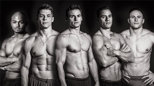 """""""Hết hồn"""" với đội tuyển thể dục nghệ thuật Mỹ. (Ảnh: Internet)"""