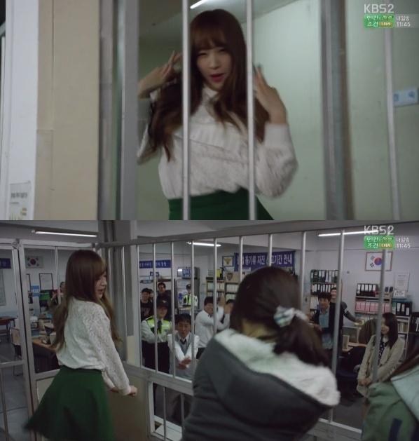 Hani bất ngờ xuất hiện và nhảy Up&Down - ca khúc đưa tên tuổi cô nàng và EXID vụt sáng.