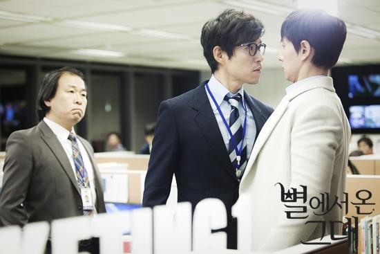 """Sự xuất hiện của """"anh chống quốc dân"""" Yoo Jun Sang trong vai đồng nghiệp thường bắt nạt nam thứ cũng vô cùng thú vị."""