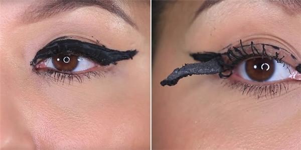 Mí mắt của bạn sẽ không thể chịu nổi với 100 lớp eyeliner.