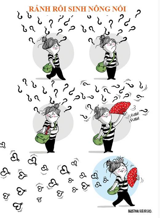 """Nói con gái """"sáng nắng chiều mưa tối âm u"""" chẳng sai tí nào. Cơ mà chỉ cần trang bị đủ nón mũ, ô dù là có thể """"đối phó"""" được những lần lên cơn đó rồi."""