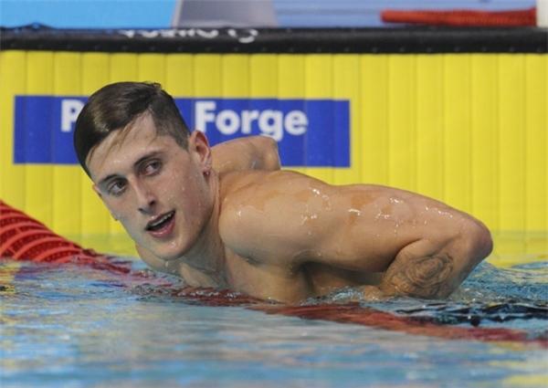 Bơi lội - bộ môn Olympic có lượng trai đẹp áp đảo