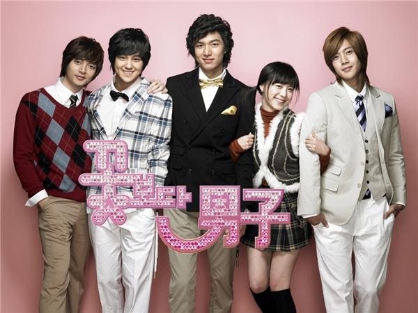 """Goo Hye Sun từng có khá nhiều kinh nghiệm được """"mĩ nam"""" vây quanh trong Boys Over Flowers"""