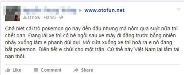 Những chuyện điên đảo khi người Việt quá mê mẩn Pokemon GO
