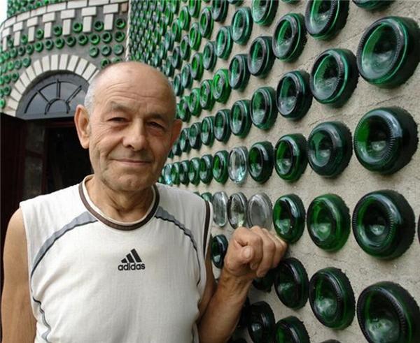 Ngôi nhà champagne của ôngVladimir Marchuk. (Ảnh: internet)