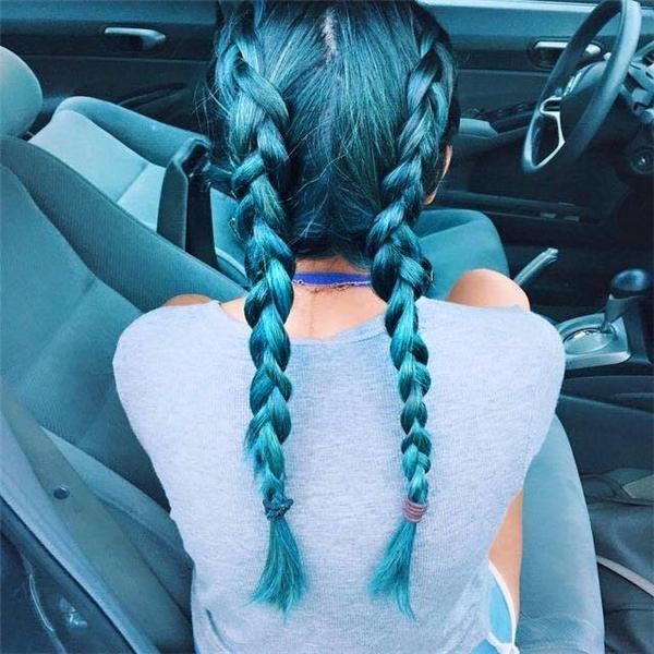 Màu tóc dành riêng cho những cô nàng yêu thích sự phá cách.