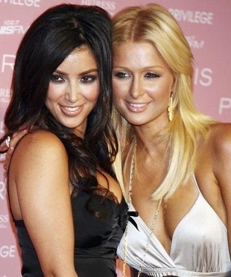 """Paris Hilton và Kim Kardashianthời còn là """"cô chủ - trợ lý"""". (Ảnh: Internet)"""