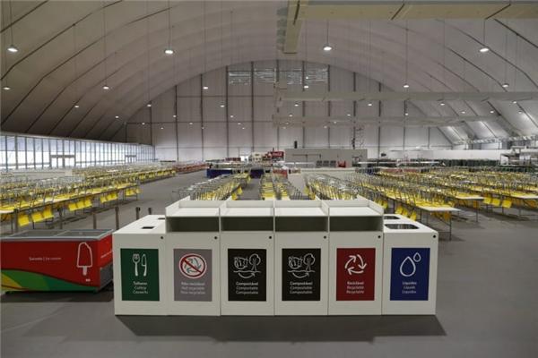 Những con số cực khủng phát sinh trong khu bếp tại Olympic 2016