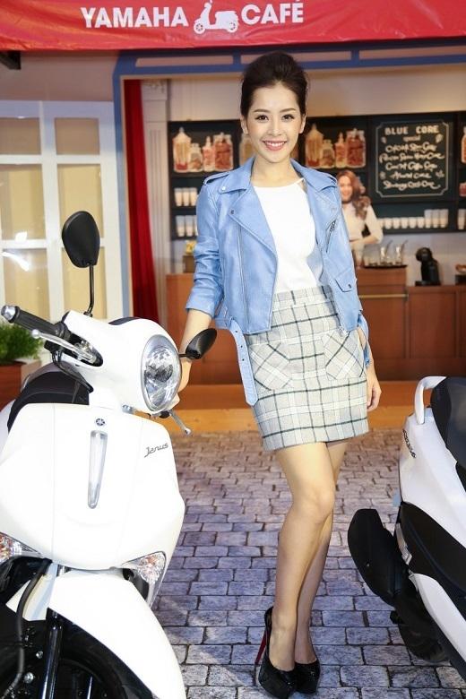 Chi Pu thay trang phục cho phù hợp với sản phẩm mà mình đang làm đại diện   - Tin sao Viet - Tin tuc sao Viet - Scandal sao Viet - Tin tuc cua Sao - Tin cua Sao