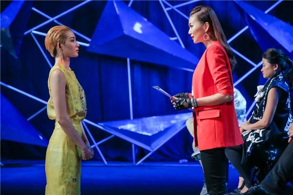 Kim Nhã được quyền đi tiếp sau phần đánh giá và loại ở tập 4.