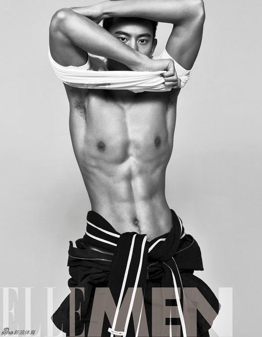 Zetao làm mẫu ảnh cho tạp chí Elle phiên bản Trung Quốc.