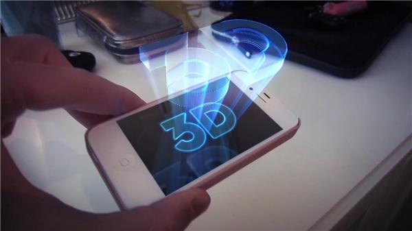 Loại màn hình tương tác ảo Hologram. (Ảnh: internet)