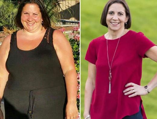 Người mẹ 127 kg giảm cân thành công nhờ bức tranh
