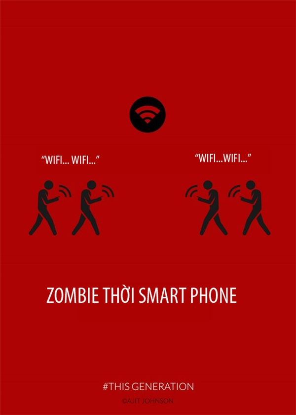 Nơi nào có wifi, nơi đó có zombie thời smartphone.