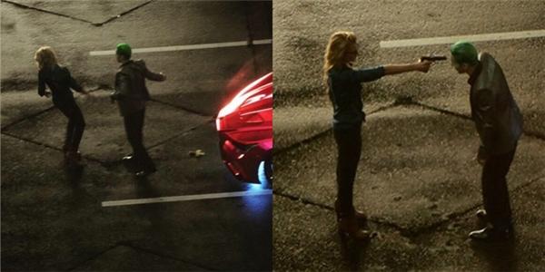 Trong một cảnh phim bị cắt, Harley Quinnthậm chí đã chĩa súng vào đầu The Joker nhưng cuối cùng lại không dám xuống tay và để hắn điều khiển.