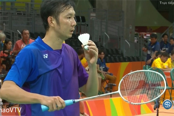 Tiến Minh đã có khởi đầu khó khăn trong trận ra quân Olympic ngày hôm qua.