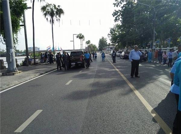 Cảnh sát Surat Thani cho rằng có nhiều điểm giống nhau giữa hai vụ đánh bom ở Surat Thani và Trang.(Ảnh: Daily Mail)