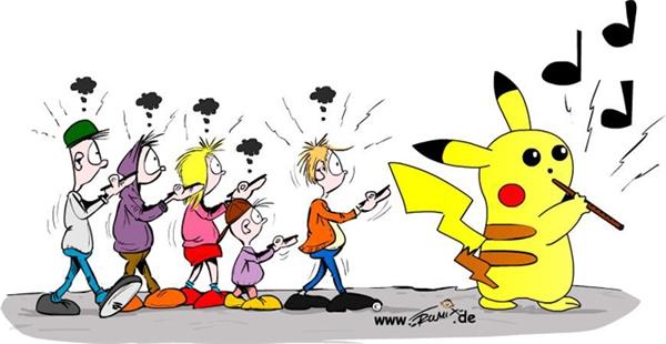 Chơi Pokemon thì cũng có khác nào tham gia một đám hát, nơi bạn là những con rối vô hồn chỉ biết đi theo tiếng gọi của chúng.