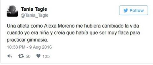 """""""Alexa Moreno truyền cảm hứng cho cuộc đời tôi""""."""
