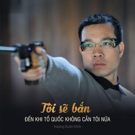 Hoàng Xuân Vinh là VĐV Việt Nam đầu tiên giành HCV ở một kìOlympic. (Ảnh: internet)