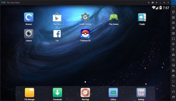 Dùng ứng dụng giả lập để cài Pokemon GO trên máy tính. (Ảnh: internet)