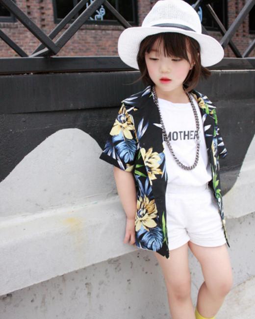 Cô bé sở hữu gu thời trang cực chất.