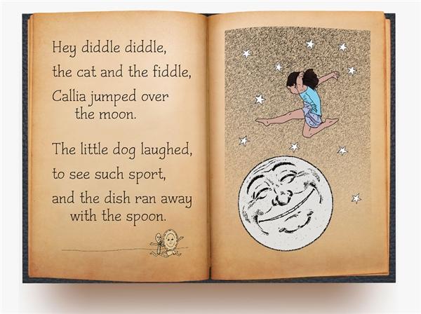 Ghi tên mình vào sử sách với cú nhảy trênmặt trăng.