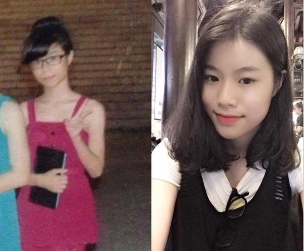 Bức ảnh truyền cảm hứng làm đẹp cho chị em: Lột xác xinh đẹp như hot girl chỉ sau vài năm