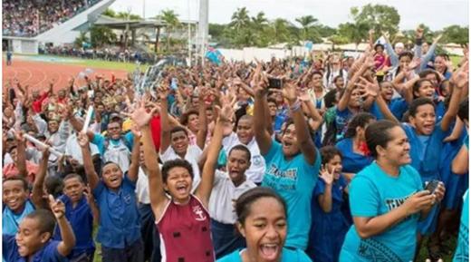 Toàn dân Fiji vỡ òa vì xúc động và tự hào.