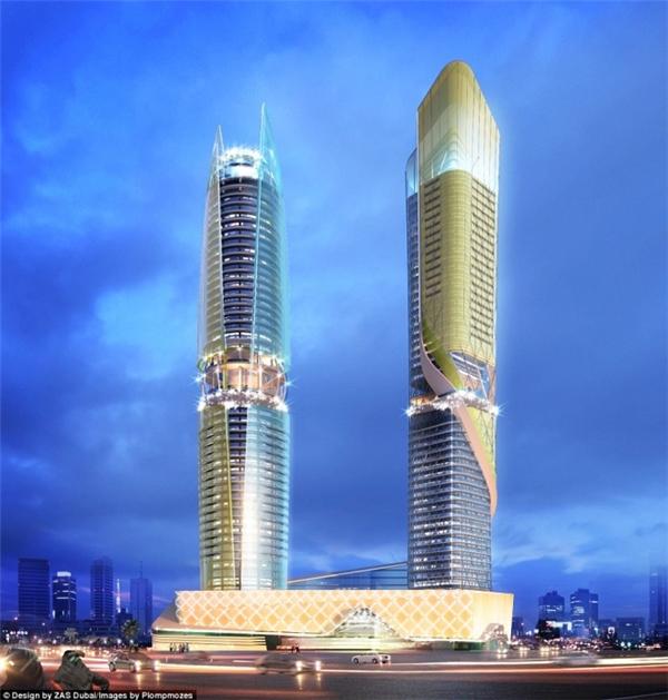 Theo Forbes, tổ hợp khách sạn vàchung cư Rosemont thuộc tập đoàn quốc tế hoàng gia Ả Rập Saudi sẽmở cửa vào năm 2018 tạiDubai, Các tiểu vương quốc Ả Rập thống nhất (UAE).
