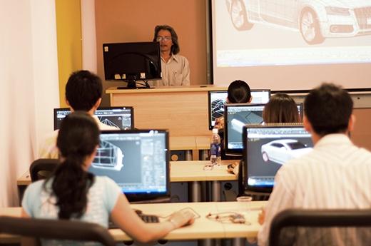 Khung cảnh học tập tại NaMiCG.