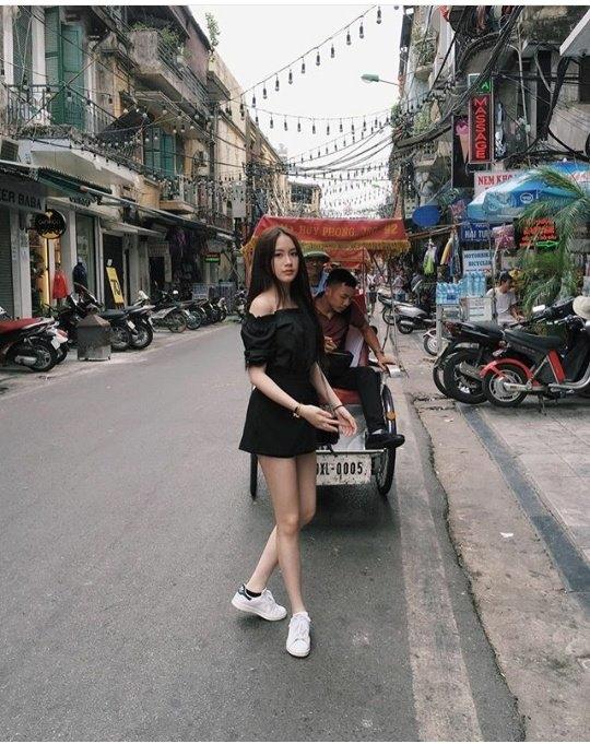 Chichitại phố Tạ Hiện.(Ảnh: Internet)