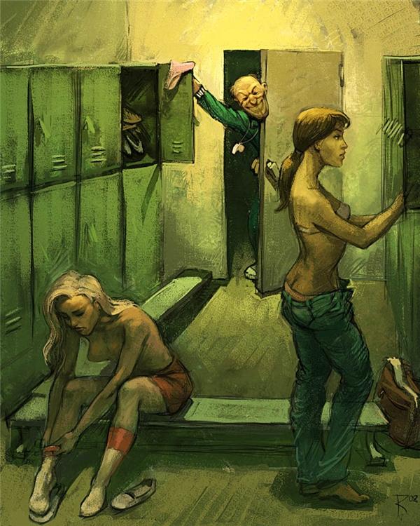 Những nơi riêng tư nhất cũng chưa chắc là nơi an toàn nhất đối với những cô gái trẻ.