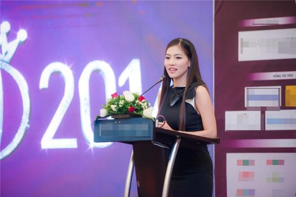 Vào ngày 12/8, bà Phạm Kim Dung- phó ban tổ chức Hoa hậu Việt Nam 2016 đích thân lên tiếng với truyền thông về sự việc của Nguyễn Thị Thành.