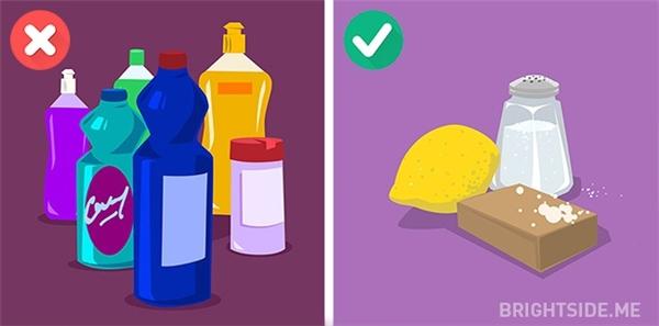 Bạn có thể tận dụng các nguyên liệu tự nhiên có sẵnthay thế cho các sản phẩm bột giặt hoặc nước giặt đắt tiền không cần thiết.