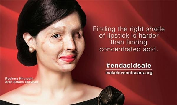 Qureshi giờ đây đã là khuôn mặt đại diện cho một tổ chức phi lợi nhuận chống lại việc buôn bán axit tràn lan cũng như nâng cao nhận thức về nạn bạo hành phụ nữ.