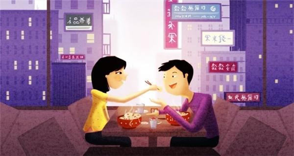 Dù bên nhau suốt ngày nhưng họ vẫn tạo những dịp đặc biệt để hẹn hò ngoài phố.
