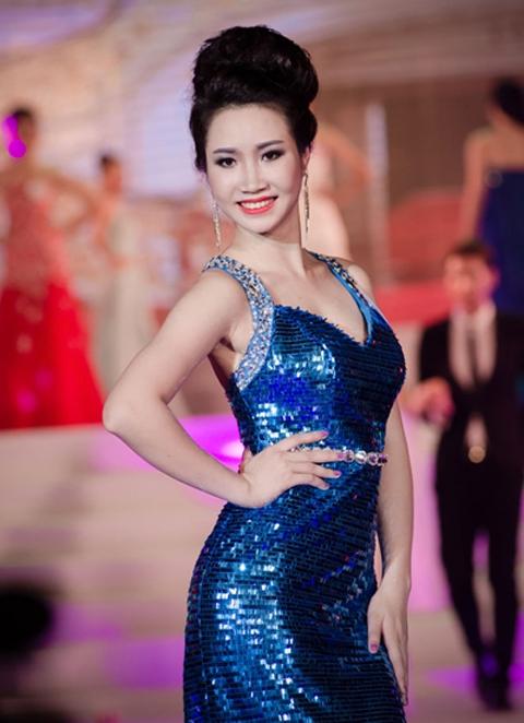 Ngọc Vân tại Hoa hậu Việt Nam 2016.