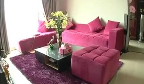 """Hiện """"chân dài""""đang sở hữu căn hộ tiền tỉở TP HCM. Căn hộ của nữ diễn viên Nụ hôn thần chết được thiết kế với tông màu hồng làm chủ đạo. - Tin sao Viet - Tin tuc sao Viet - Scandal sao Viet - Tin tuc cua Sao - Tin cua Sao"""