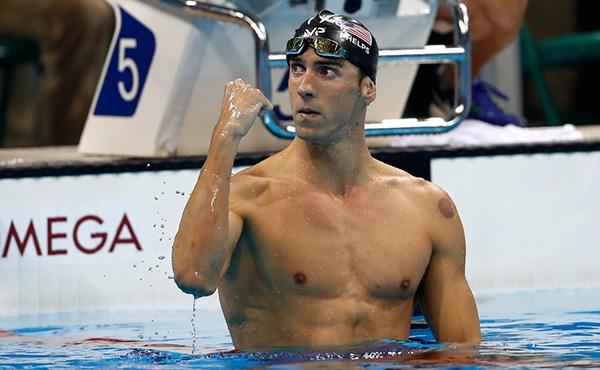 Michael Phelps là được gọi là siêu kình ngư.